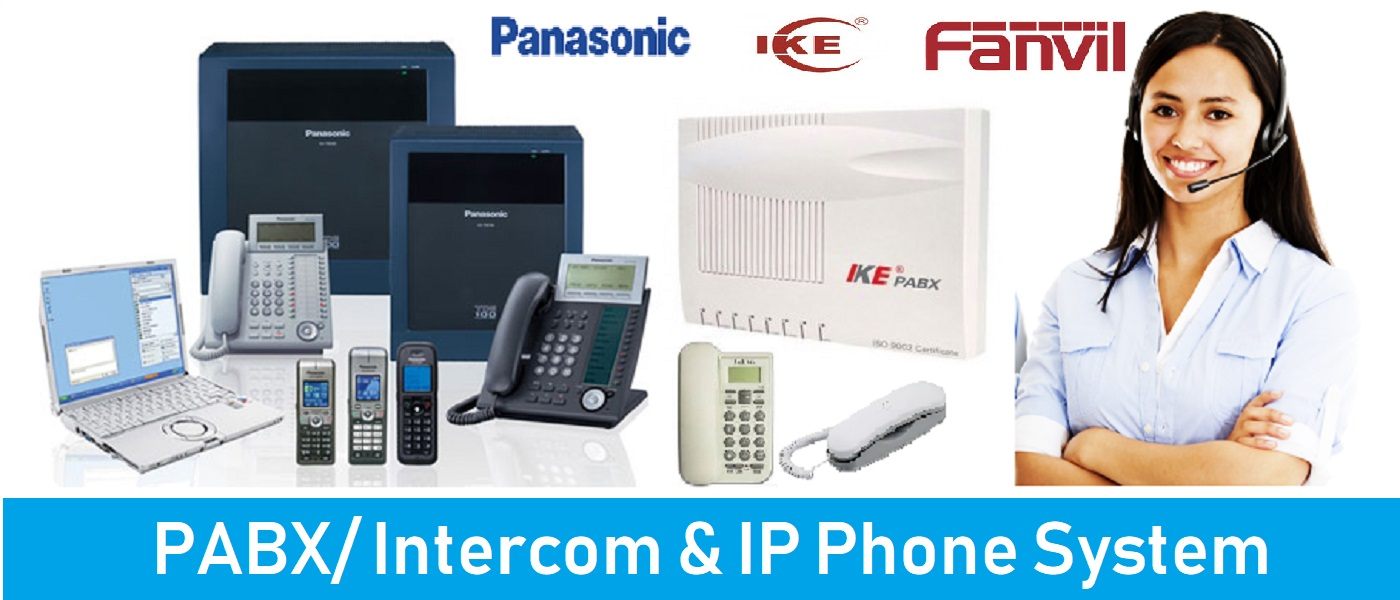 pabx/intercom & IP Phone system